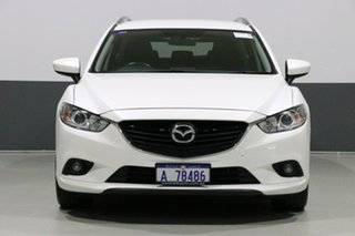 2015 Mazda 6 6C MY15 Sport Snowflake Pearl 6 Speed Automatic Wagon.