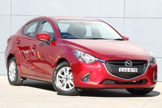 Demo Mazda 2 DL2SAA Maxx SKYACTIV-Drive, 2019 Mazda 2 DL2SAA Maxx SKYACTIV-Drive Soul Red Crystal 6 Speed Sports Automatic Sedan