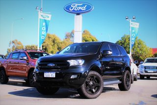 2016 Ford Everest UA Trend 4WD Black 6 Speed Sports Automatic Wagon.