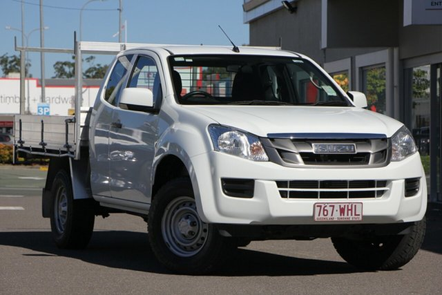 Used Isuzu D-MAX MY15 SX Space Cab, 2016 Isuzu D-MAX MY15 SX Space Cab White 5 Speed Sports Automatic Cab Chassis