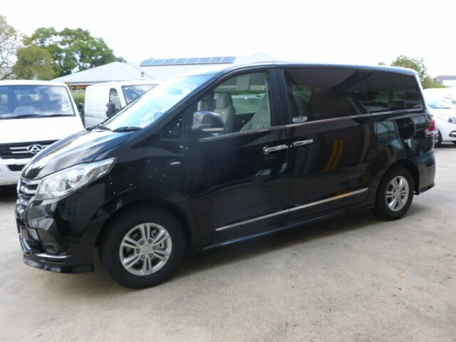 New LDV G10 SV7A Executive, 2019 LDV G10 SV7A Executive Black 6 Speed Sports Automatic Wagon