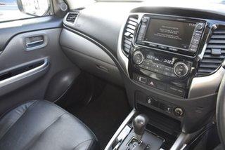 2015 Mitsubishi Triton MQ MY16 Exceed (4x4) Blue 5 Speed Automatic Dual Cab Utility