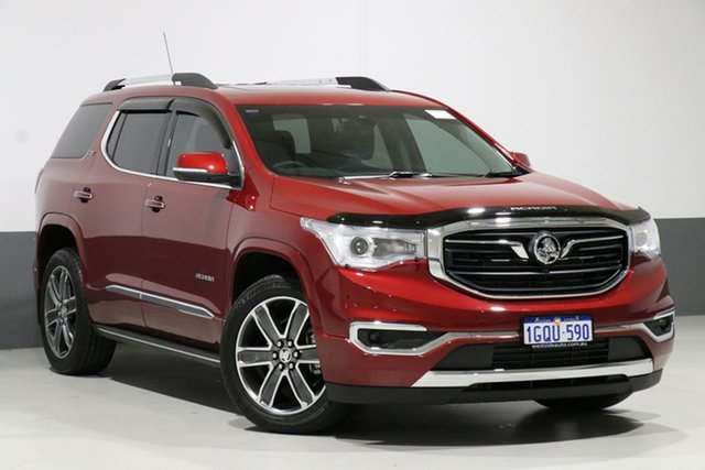 Used Holden Acadia AC LTZ-V (2WD), 2018 Holden Acadia AC LTZ-V (2WD) Red 9 Speed Automatic Wagon