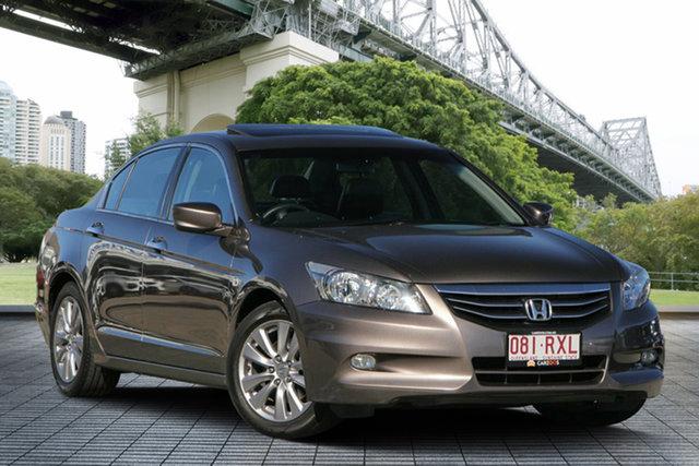 Used Honda Accord 8th Gen MY10 VTi-L, 2011 Honda Accord 8th Gen MY10 VTi-L Brown 5 Speed Sports Automatic Sedan