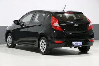 2017 Hyundai Accent RB4 MY17 Active Black 6 Speed Manual Hatchback