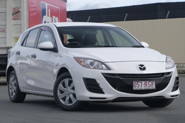 Used Mazda 3 BL10F1 MY10 Neo Activematic, 2011 Mazda 3 BL10F1 MY10 Neo Activematic White 5 Speed Sports Automatic Hatchback