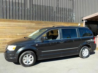 2009 Chrysler Grand Voyager RT 5th Gen MY08 Touring Black 6 Speed Automatic Wagon