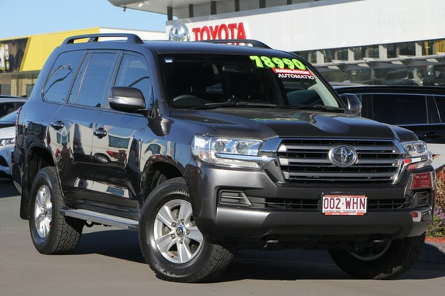 Used Toyota Landcruiser VDJ200R GXL, 2016 Toyota Landcruiser VDJ200R GXL Graphite 6 Speed Sports Automatic Wagon