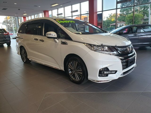 Used Honda Odyssey RC MY18 VTi-L, 2018 Honda Odyssey RC MY18 VTi-L White 7 Speed Constant Variable Wagon
