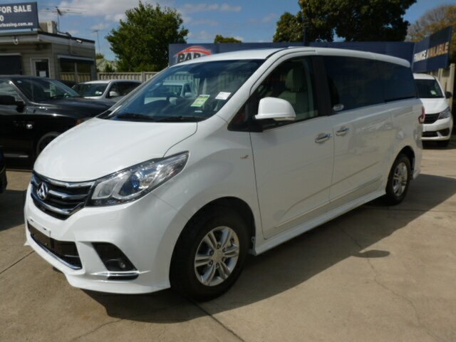 New LDV G10 SV7A Executive, 2019 LDV G10 SV7A Executive White 6 Speed Sports Automatic Wagon