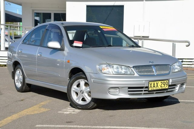Used Nissan Pulsar N16 Q, 2001 Nissan Pulsar N16 Q Silver 4 Speed Automatic Sedan