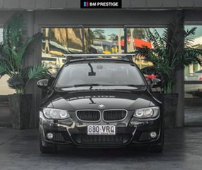 2010 BMW 320d E92 MY10.5 Steptronic Black 6 Speed Sports Automatic Coupe.