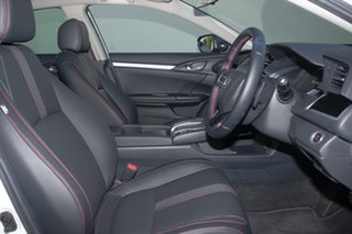 2019 Honda Civic 10th Gen MY19 RS Platinum White 1 Speed Constant Variable Sedan