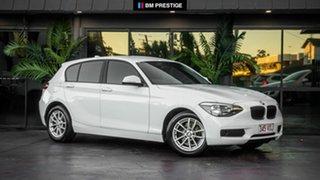 2014 BMW 116i F20 MY0314 Steptronic White 8 Speed Sports Automatic Hatchback.