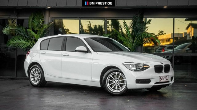 Used BMW 116i F20 MY0314 Steptronic, 2014 BMW 116i F20 MY0314 Steptronic White 8 Speed Sports Automatic Hatchback