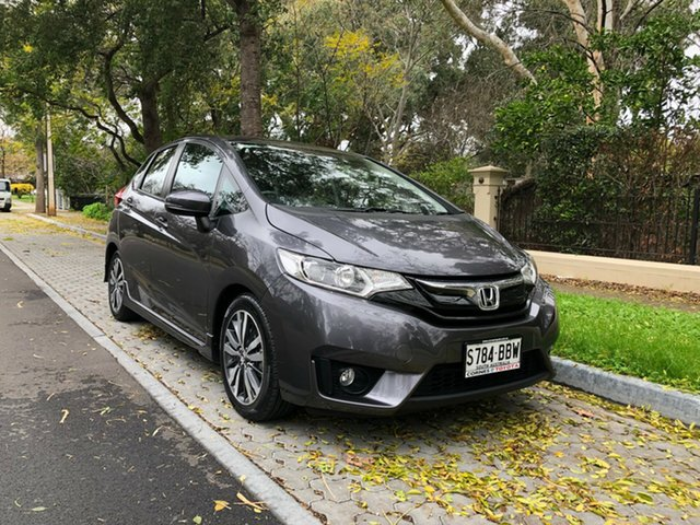 Used Honda Jazz GF MY15 VTi-L, 2014 Honda Jazz GF MY15 VTi-L Graphite 1 Speed Constant Variable Hatchback