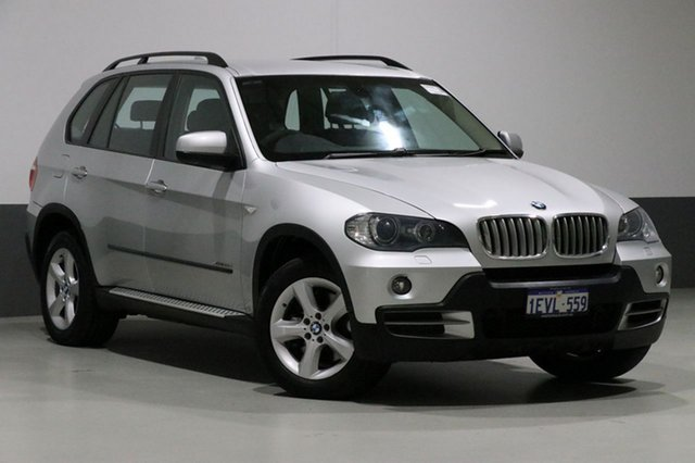 Used BMW X5 E70 MY09 xDrive 35D, 2010 BMW X5 E70 MY09 xDrive 35D Silver 6 Speed Auto Steptronic Wagon