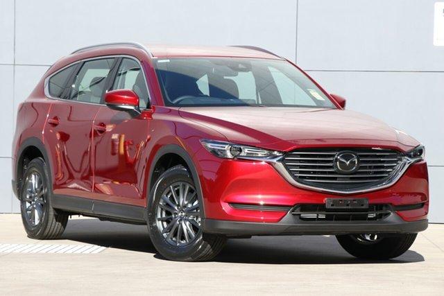 New Mazda CX-8 KG2W2A Sport SKYACTIV-Drive FWD, 2019 Mazda CX-8 KG2W2A Sport SKYACTIV-Drive FWD Soul Red Crystal 6 Speed Sports Automatic Wagon