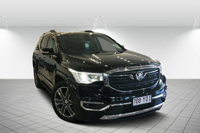 Used Holden Acadia AC MY19 LTZ-V AWD, 2019 Holden Acadia AC MY19 LTZ-V AWD Mineral Black 9 Speed Sports Automatic Wagon