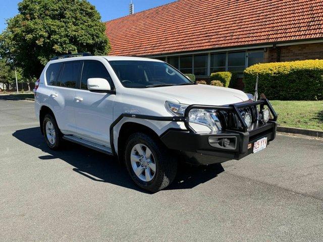 Used Toyota Landcruiser Prado KDJ150R GXL, 2014 Toyota Landcruiser Prado KDJ150R GXL White 5 Speed Automatic Wagon