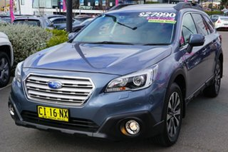 2016 Subaru Outback B6A MY16 2.0D CVT AWD Premium Grey 7 Speed Constant Variable Wagon.