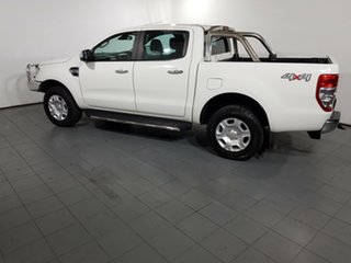 2016 Ford Ranger PX MkII XLT Double Cab White 6 Speed Manual Utility
