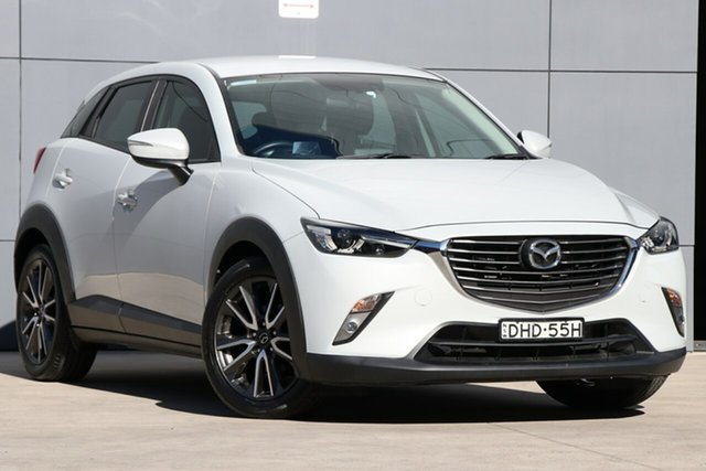 Used Mazda CX-3 DK2W7A sTouring SKYACTIV-Drive, 2016 Mazda CX-3 DK2W7A sTouring SKYACTIV-Drive Ceramic 6 Speed Sports Automatic Wagon