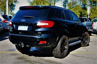 2016 Ford Everest UA Trend 4WD Black 6 Speed Sports Automatic Wagon