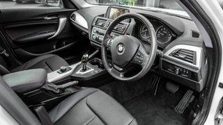 2014 BMW 116i F20 MY0314 Steptronic White 8 Speed Sports Automatic Hatchback