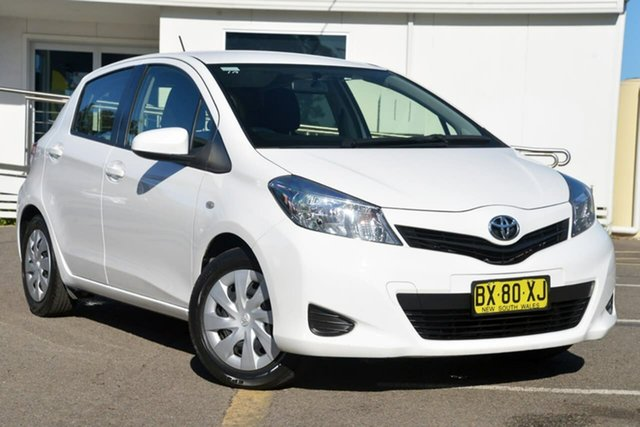 Used Toyota Yaris NCP131R YRS, 2013 Toyota Yaris NCP131R YRS White 4 Speed Automatic Hatchback