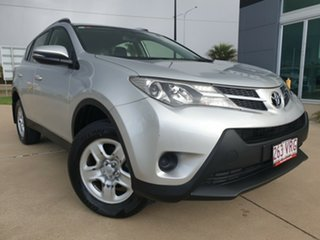 2015 Toyota RAV4 ZSA42R GX 2WD Silver 7 Speed Constant Variable Wagon.