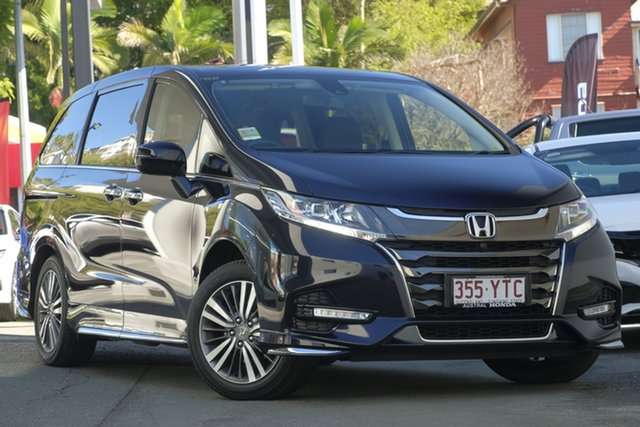 Demo Honda Odyssey RC MY18 VTi-L, 2018 Honda Odyssey RC MY18 VTi-L Premium Twinkle Black 7 Speed Constant Variable Wagon