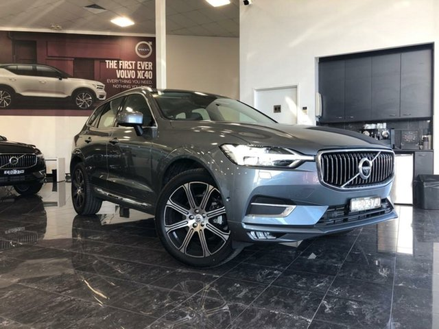 Used Volvo XC60 246 MY19 T5 Inscription (AWD), 2018 Volvo XC60 246 MY19 T5 Inscription (AWD) Osmium Grey 8 Speed Automatic Geartronic Wagon