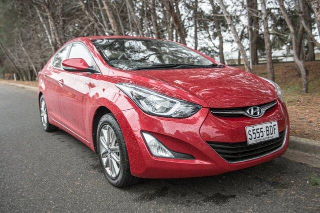 Used Hyundai Elantra MD3 SE, 2014 Hyundai Elantra MD3 SE Red 6 Speed Sports Automatic Sedan