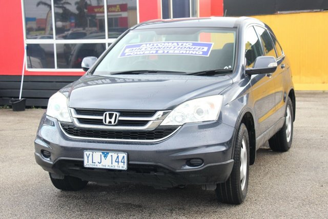 Used Honda CR-V RE MY2011 4WD, 2011 Honda CR-V RE MY2011 4WD Grey 5 Speed Automatic Wagon