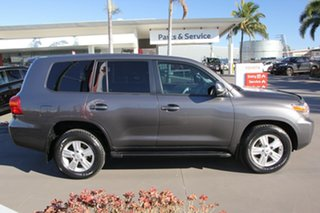 2015 Toyota Landcruiser VDJ200R MY13 VX Graphite 6 Speed Sports Automatic Wagon.