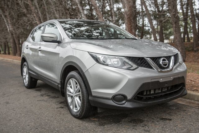 Used Nissan Qashqai J11 ST, 2014 Nissan Qashqai J11 ST Silver 1 Speed Constant Variable Wagon