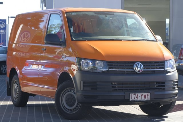 Demo Volkswagen Transporter T6 MY19 TDI340 SWB DSG, 2019 Volkswagen Transporter T6 MY19 TDI340 SWB DSG Luminous Orange 7 Speed