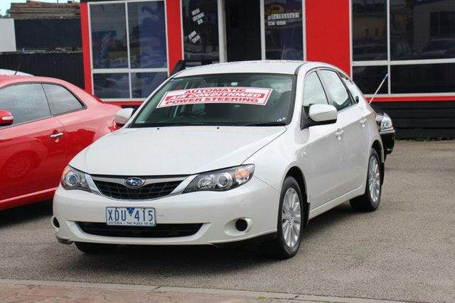 Used Subaru Impreza G3 MY09 R AWD, 2009 Subaru Impreza G3 MY09 R AWD White 4 Speed Sports Automatic Sedan
