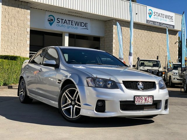 Used Holden Commodore VE II MY12 SV6, 2011 Holden Commodore VE II MY12 SV6 Silver 6 Speed Sports Automatic Sedan