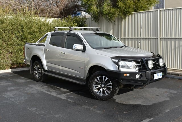 Used Holden Colorado RG MY17 LTZ Pickup Crew Cab, 2016 Holden Colorado RG MY17 LTZ Pickup Crew Cab Nitrate 6 Speed Manual Utility