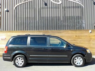 2009 Chrysler Grand Voyager RT 5th Gen MY08 Touring Black 6 Speed Automatic Wagon.