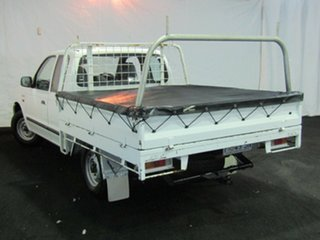 2000 Ford Courier PE XL Super Cab 4x2 White 5 Speed Manual Utility.
