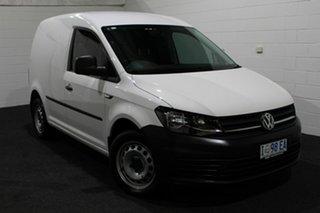 2015 Volkswagen Caddy 2KN MY16 TSI220 Maxi DSG White 7 Speed Sports Automatic Dual Clutch Van.