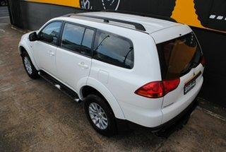 2012 Mitsubishi Challenger PB (KH) MY12 LS Alpine White 5 Speed Sports Automatic Wagon