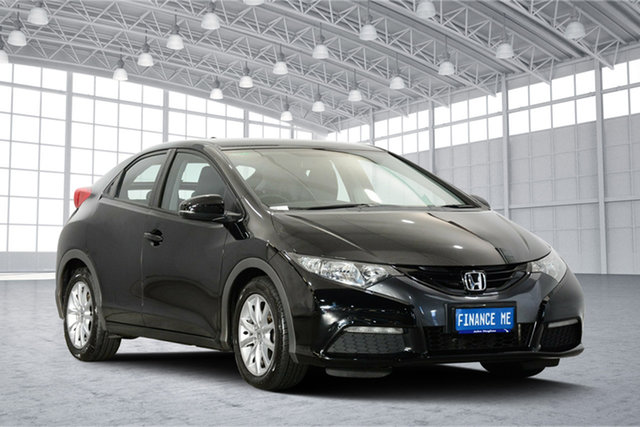 Used Honda Civic 9th Gen MY13 VTi-S, 2013 Honda Civic 9th Gen MY13 VTi-S Black 5 Speed Sports Automatic Hatchback