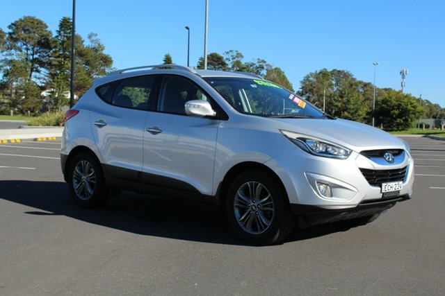 Used Hyundai ix35 LM3 MY14 Elite AWD, 2013 Hyundai ix35 LM3 MY14 Elite AWD Sleek Silver 6 Speed Sports Automatic Wagon