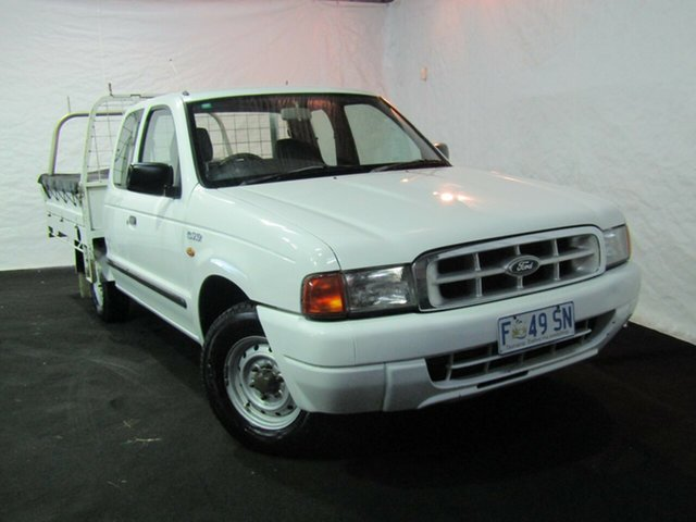 Used Ford Courier PE XL Super Cab 4x2, 2000 Ford Courier PE XL Super Cab 4x2 White 5 Speed Manual Utility