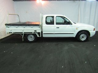 2000 Ford Courier PE XL Super Cab 4x2 White 5 Speed Manual Utility