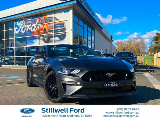 Demo Ford Mustang FN 2018MY GT SelectShift, 2018 Ford Mustang FN 2018MY GT SelectShift Magnetic 10 Speed Sports Automatic Convertible